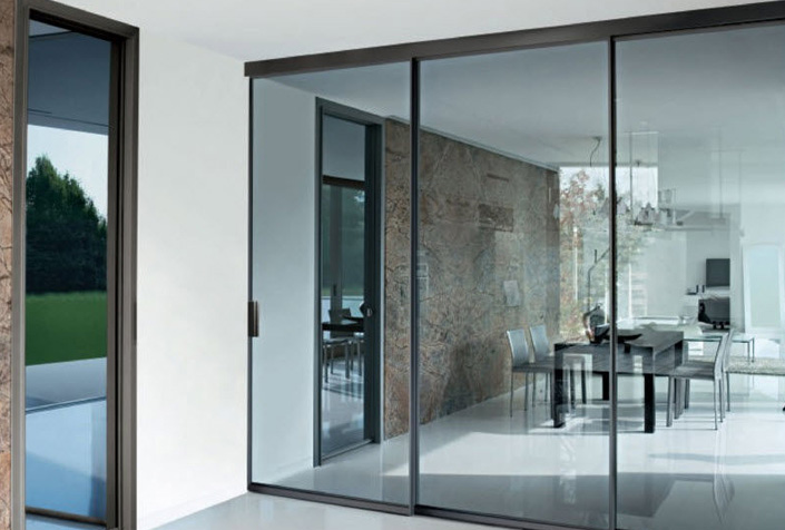 carpintera aluminio puerta corredera